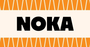 Noka [6 Fonts] | The Fonts Master
