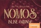 Nomos [4 Fonts] | The Fonts Master
