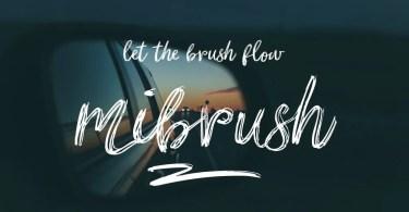 Mibrush [3 Fonts]   The Fonts Master