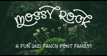 Mossy Rock [6 Fonts]   The Fonts Master