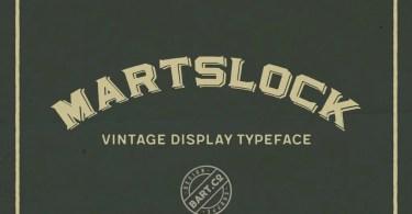 Martslock [2 Fonts] | The Fonts Master