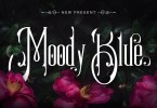 Moody Blue [1 Font] | The Fonts Master