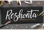Reshonta Script [2 Fonts] | The Fonts Master