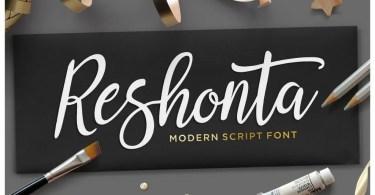 Reshonta Script [2 Fonts]