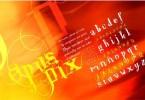 Opus Pix [1 Font] | The Fonts Master