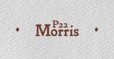 P22 Morris [3 Fonts] | The Fonts Master