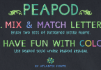 Peapod [2 Fonts] | The Fonts Master