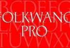P22 Folkwang Pro [1 Font] | The Fonts Master