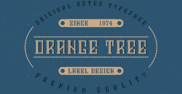 Orange Tree [6 Fonts] | The Fonts Master