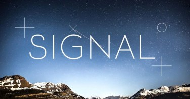 Signal [2 Fonts] | The Fonts Master
