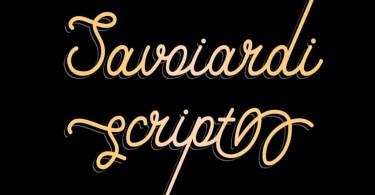 Savoiardi [4 Fonts] - The Fonts Master