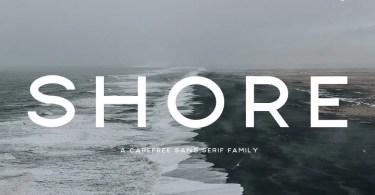 Shore [6 Fonts] | The Fonts Master