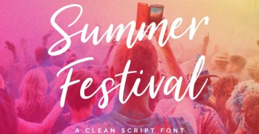 Summer Festival [2 Fonts] | The Fonts Master