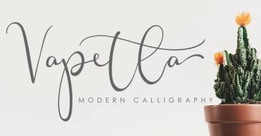 Vapetla [1 Font] | The Fonts Master