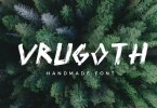 Vrugoth [1 Font] | The Fonts Master