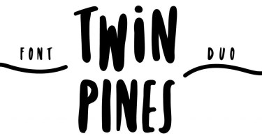 Twin Pines [2 Fonts]