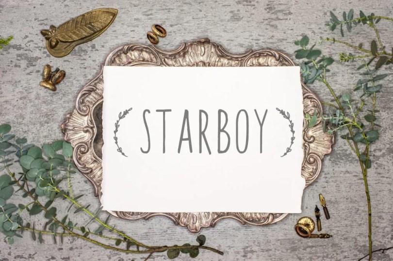 Starboy [2 Fonts]