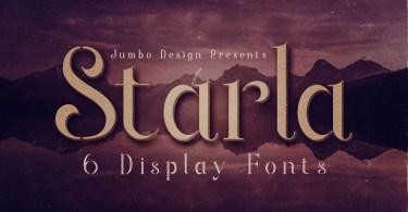Starla [6 Fonts] | The Fonts Master