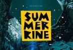 Summerrine [1 Font] | The Fonts Master