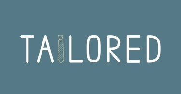 Tailored [1 Font] | The Fonts Master