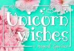 Unicorn Wishes [1 Font] | The Fonts Master
