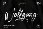 Wolfgang [3 Fonts] | The Fonts Master