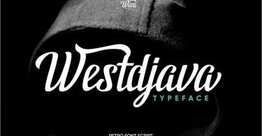 Westdjava [1 Font] | The Fonts Master
