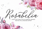 Rosabelia [6 Fonts] | The Fonts Master