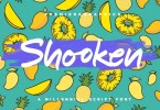 Shooken [3 Fonts] | The Fonts Master