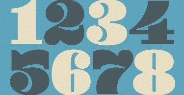 Yellow Numbers [16 Fonts] | The Fonts Master