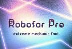 Robofor Pro [1 Font] | The Fonts Master