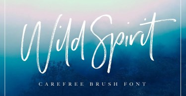 Wild Spirit [3 Fonts]   The Fonts Master