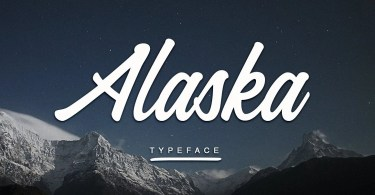 Alaska [1 Font] | The Fonts Master