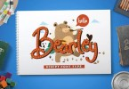 Bearley [4 Fonts] | The Fonts Master