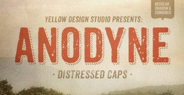 Anodyne [6 Fonts] | The Fonts Master