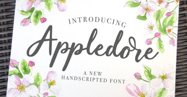 Appledore Script [1 Font] | The Fonts Master