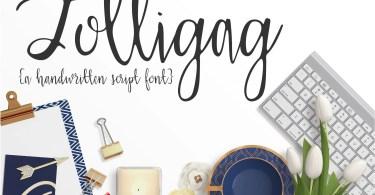 Lolligag Script [1 Font] | The Fonts Master