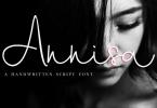 Annisa Script [2 Fonts] | The Fonts Master