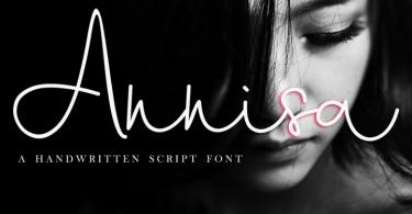 Annisa Script [2 Fonts]   The Fonts Master