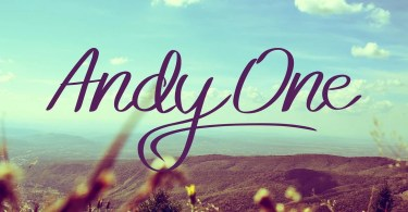 Andy One [4 Fonts] | The Fonts Master