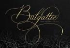 Bulgattie [1 Font] | The Fonts Master
