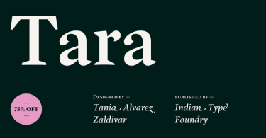 Itf Tara Super Family [8 Fonts] | The Fonts Master