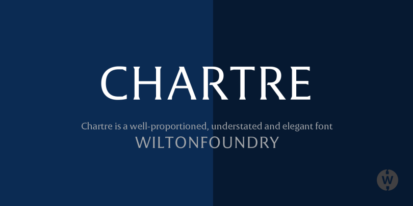 Chartre [2 Fonts] | The Fonts Master