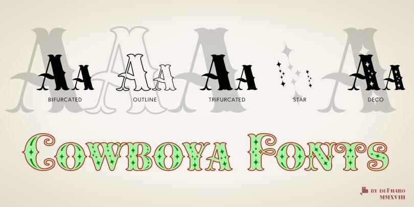 Cowboya [1 Font]   The Fonts Master