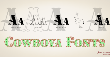 Cowboya [1 Font] | The Fonts Master
