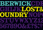 Lost &Amp; Foundry [7 Fonts] | The Fonts Master