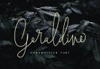 Geraldine [3 Fonts] | The Fonts Master