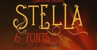 Stella [6 Fonts] | The Fonts Master