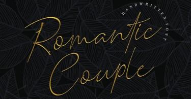 Romantic Couple [1 Font] | The Fonts Master