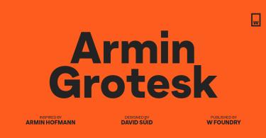 Armin Grotesk Super Family [14 Fonts] | The Fonts Master